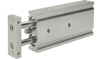 Double piston cylinder with guide EXSM (Ø 6 - 32)